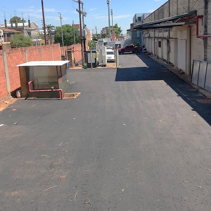 asfalto paraguay yerbatera saric